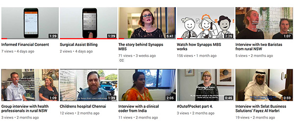 Synapse Connect Newsletter May Videos Medical Administation