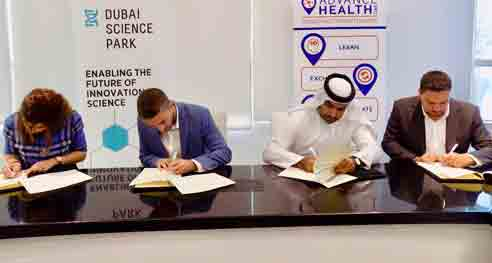Dubai Science Park Launches Knowledge Exchange Platform to Enhance Dubai's Healthcare Sector