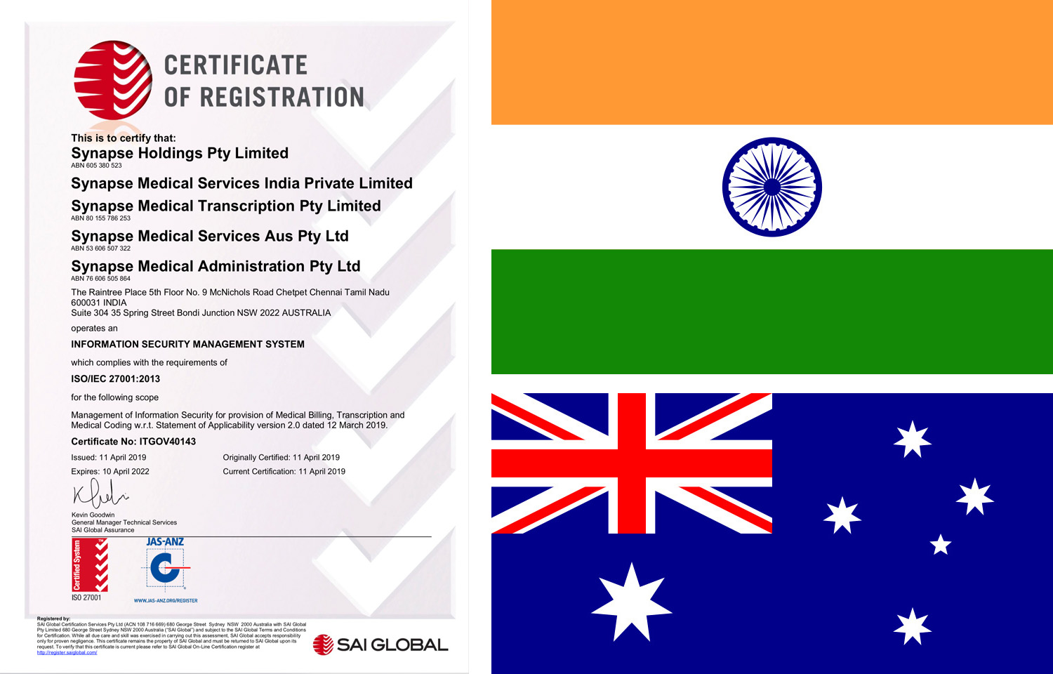 certificate_flags - Synapse Medical Services   Medical