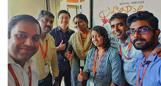 Synapse team at India office