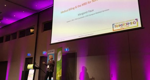 Margaret Faux presents at ACNP National Conference